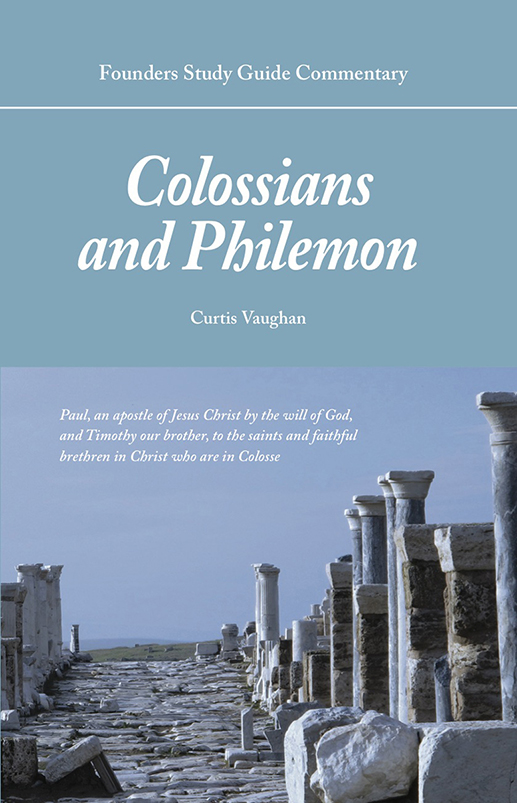 FSGC Colossians and Philemon