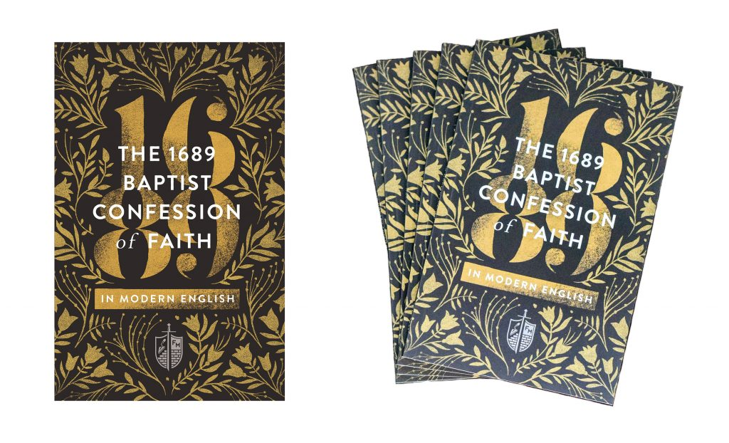 1689 Confession book and bundle